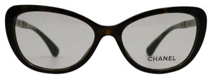 Chanel Chanel Cat Eye Blooming Bijou Tortoise RX Eyeglasses 3345 c.714 54