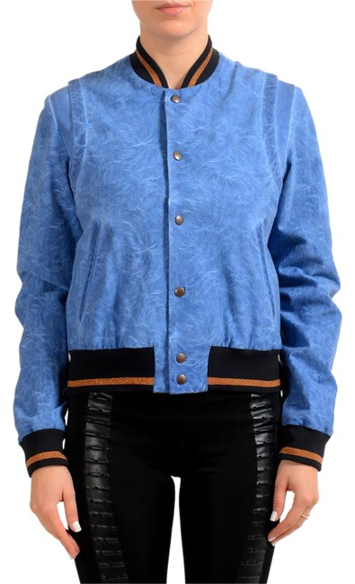 Item - Blue V-wh-7467 Jacket Size 4 (S)