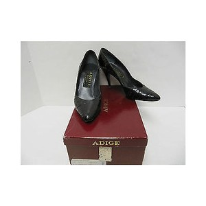 Other Womens Vintage Adige Crocodile Heels Blacks Pumps