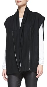 Helmut Lang Vest Oversized Casual Wool Asymmetric Sweater