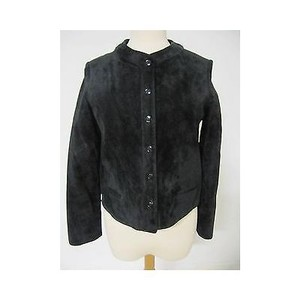 Anne Klein Womens Vintage Black Jacket