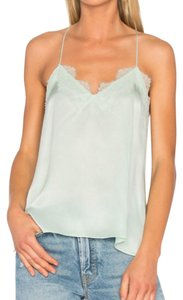 cami nyc Lacey Silky Top Dusty Agua