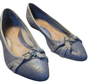 Sperry Silver/grey Flats
