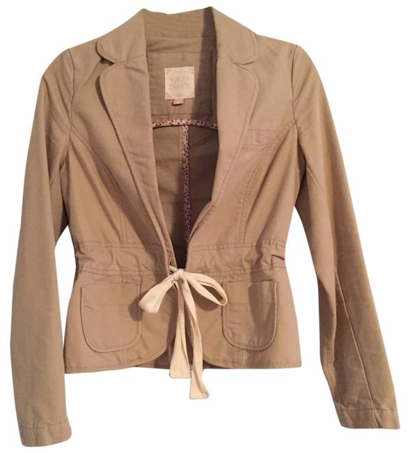 Item - Tan Nwot Cotton Blazer Size 0 (XS)