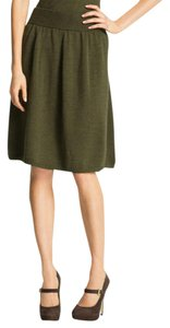 0a0d5f6a5af Eileen Fisher Merino Wool Soft Comfy Knit Neutral + Versatile Stretch Waist  Easy Pull On Skirt