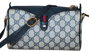 Gucci Accessory Collection Made In Italy Vintage Monogram Cross Body Bag