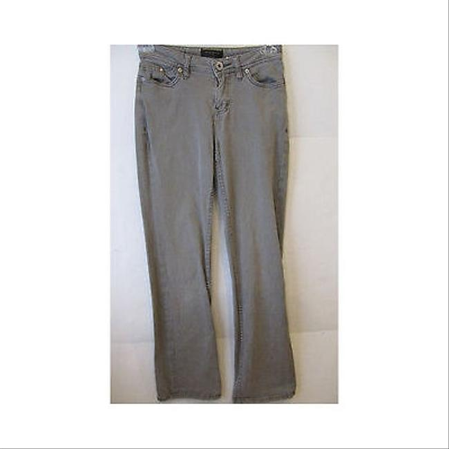 Christopher Blue Womens Gray Stretch Pants Boot Cut Jeans