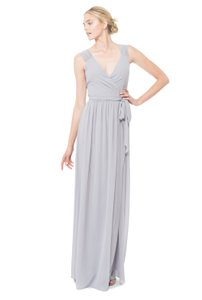 Joanna August Silver Bells Newbury Long Formal Bridesmaid/Mob Dress Size 4 (S)