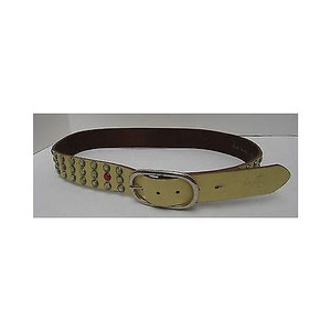 Paul Smith Womens Paul Smith Yellow Leather Studs Belt