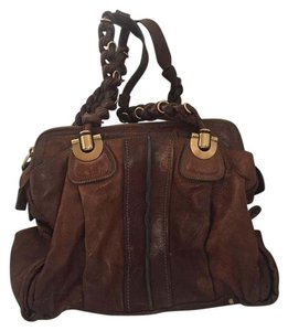 Chloé Leather Heloise Tote Brownleathertote Satchel in Light Brown
