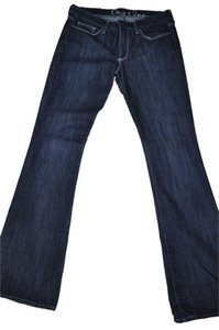 Chip and Pepper & Olivia Dark Wash Denim Mid Rise Size 29 Like New Boot Cut Jeans-Dark Rinse