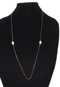 Givenchy GIVENCHY Gold Tone Chain Necklace