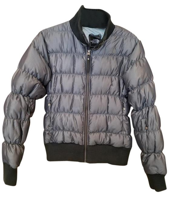 Item - Charcoal Face/Goose Down Jacket Size 4 (S)