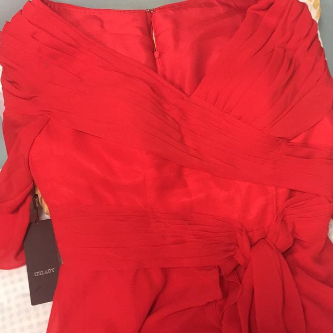 Item - Red Chiffon Mother Of The Bride..homecomings Or Mardi Gras Balls Formal Wedding Dress Size 16 (XL, Plus 0x)