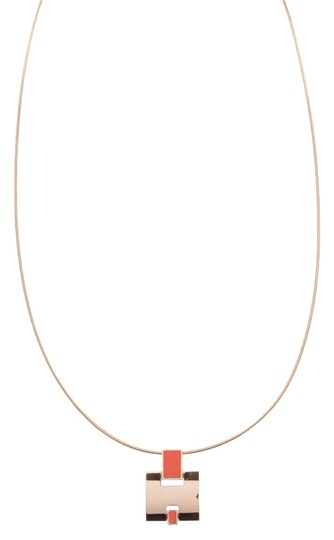 Preload https://img-static.tradesy.com/item/22279843/hermes-orangegold-gold-plated-enamel-eileen-pendant-necklace-0-1-540-540.jpg