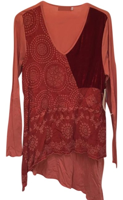 Item - Persimmon 4 Love and Liberty Long Sleeve Tunic Size 16 (XL, Plus 0x)