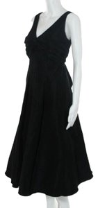 Nicole Miller Evening Gown Elegant A-line Midcalf Dress