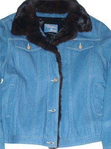 Christia Jeans blue Womens Jean Jacket