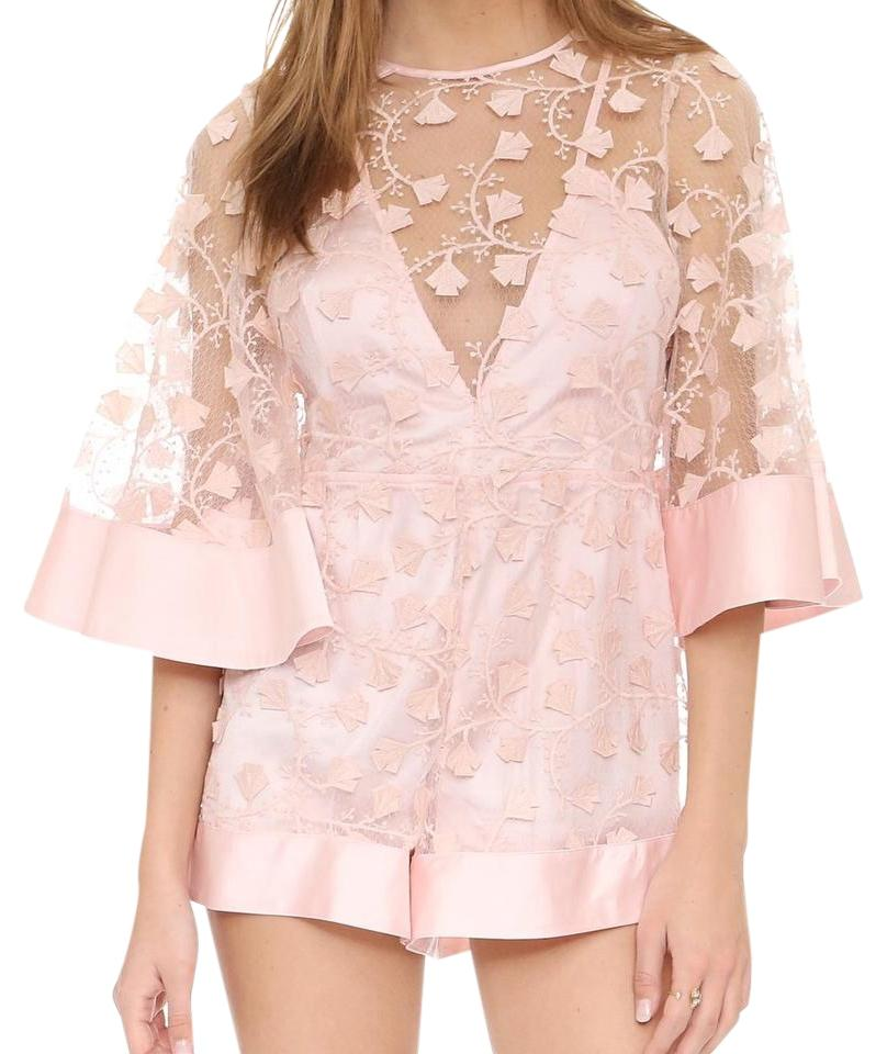983c4503738d alice McCALL Pink Gypsy Eyes Romper Jumpsuit - Tradesy
