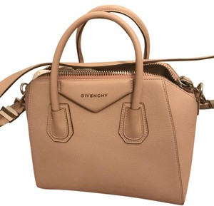 Givenchy Satchel in nude but Givenchy calls it pink