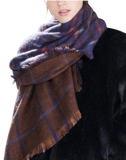 Item - Blue and Brown Scarf/Wrap