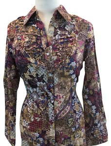 Gioia Button Down Shirt Multi