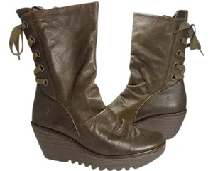 FLY London olive Boots