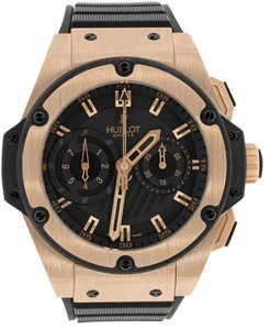 Hublot Big Bang King Power Foudroyante 18k Rose Gold 715.PX.1128.RX Watch B&P