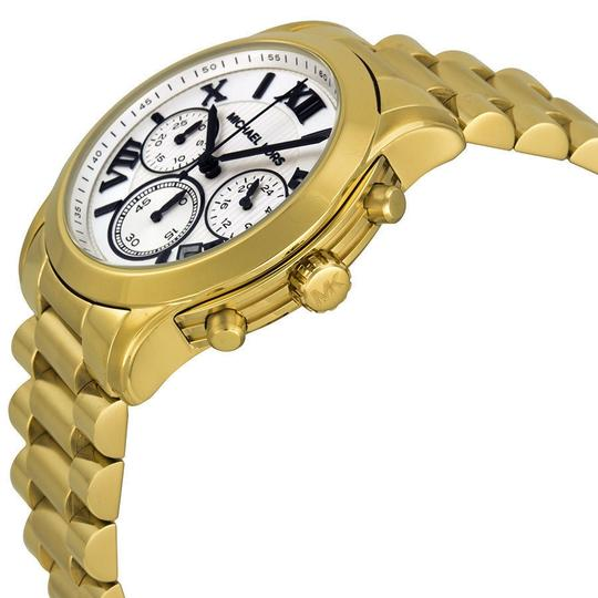 Michael Kors Michael Kors Midsized Gold-Tone White Dial Unisex Watch