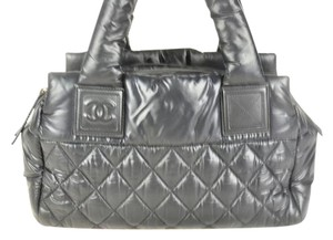 Chanel Coco Cocoon Tote in Black