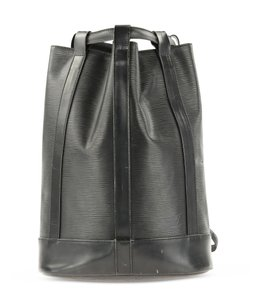 Louis Vuitton Randonee Noir Bucket Backpack