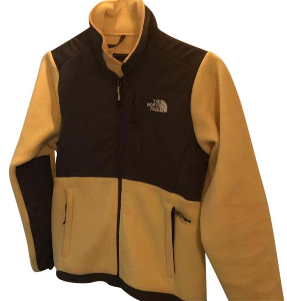 7db7cab9654d1 The North Face Yellow and Gray Fleece Jacket Size 2 (XS) - Tradesy