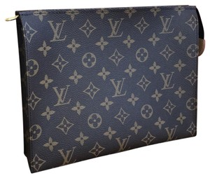 Louis Vuitton Toilet 26 Cosmetic Case Cosmetic Case 26 26 Travel Clutch