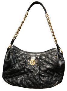 Marc Jacobs Silvana Quilted Leather Hobo Bag