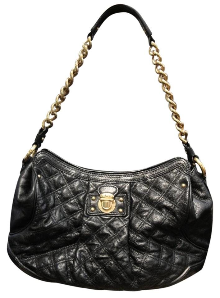 Marc Jacobs Black Leather Quilted Silvana Hobo Bag - Tradesy : marc jacobs quilted bags - Adamdwight.com