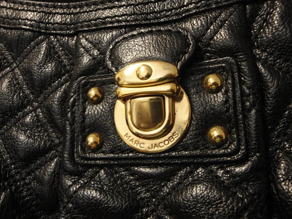 Marc Bag Black Hobo Silvana Jacobs Leather Quilted tTqrYtaw