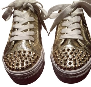 Steve Madden Gold Athletic