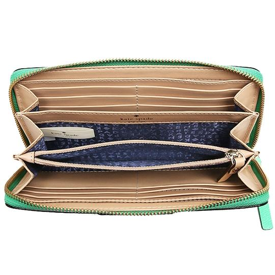 Kate Spade NEW!!! TAGS Green Zip Around Large Wallet Clutch!