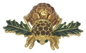 Joan Rivers Joan Rivers Collection Pinecone Bee Brooch