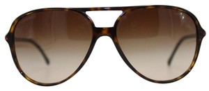 Chanel Stylish Tortoise Aviator Chanel Sunglasses 5287 59