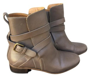 See by Chloé Strappy Ankle Strap brown Boots