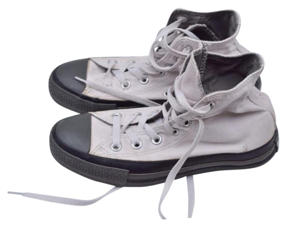 765d23e4ac0d Converse White   Black All Star High Top Sneakers Sneakers. Size  US 6 ...