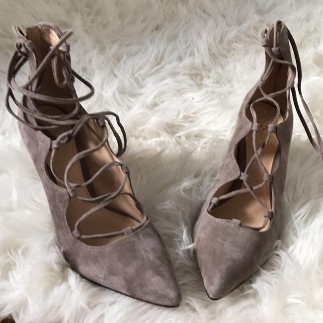 Item - Stone Taupe True Suede Vc-barsha Pumps Size US 8 Regular (M, B)