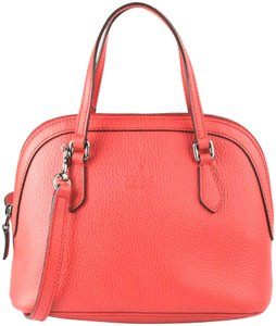 Gucci Purse Shoulder Cross Body Long Strap Satchel in Red-Flame