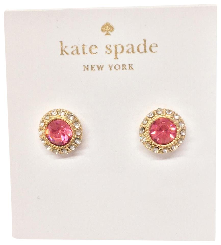 r rd rg wrc ruby gold ct white earrings itm rhodolite red garnet round w