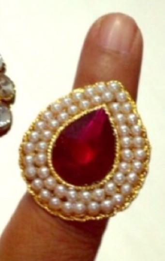 Other Magnificent Pearl & Kundan Ring