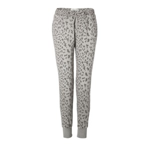 Current/Elliott Relaxed Pants grey leopard