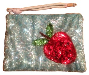 Cute Baby Blue Beaded wristlet