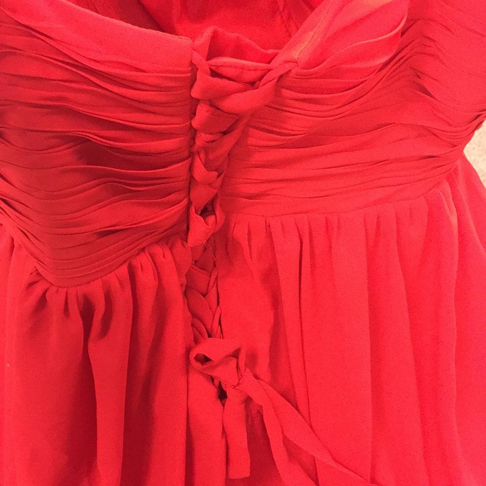66d1e83f933 JJsHouse Candy Apple Red Polyester   Chiffon Prom Wear Mother Of The Bride  Galas Mardi Gras Formal Wedding Dress