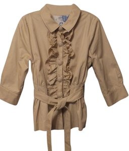 Manoush Short Cotton Anthropologie Trench Coat